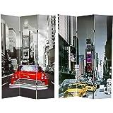 Amazon.com: Oriental Furniture 6 ft. Tall New York City ...