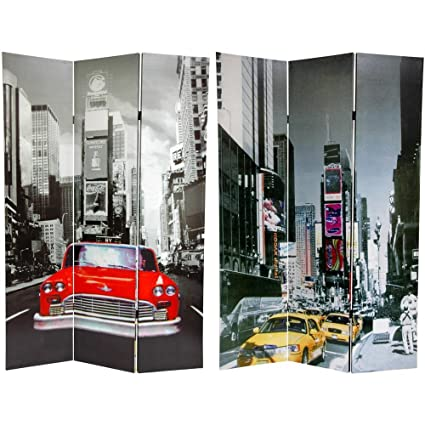 Amazoncom Oriental Furniture 6 ft Tall New York City Taxi Double