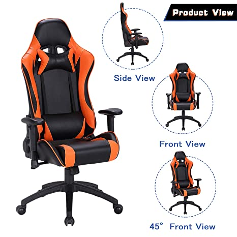 Admirable Amazon Com Squadise Big And Tall 350Lb Massage Gaming Chair Alphanode Cool Chair Designs And Ideas Alphanodeonline