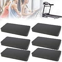 Bestine Loopbandmat, 6 stuks, antislip, slijtvast en anti-trillingen, geluidsdempingskussen voor fitnessapparaten…