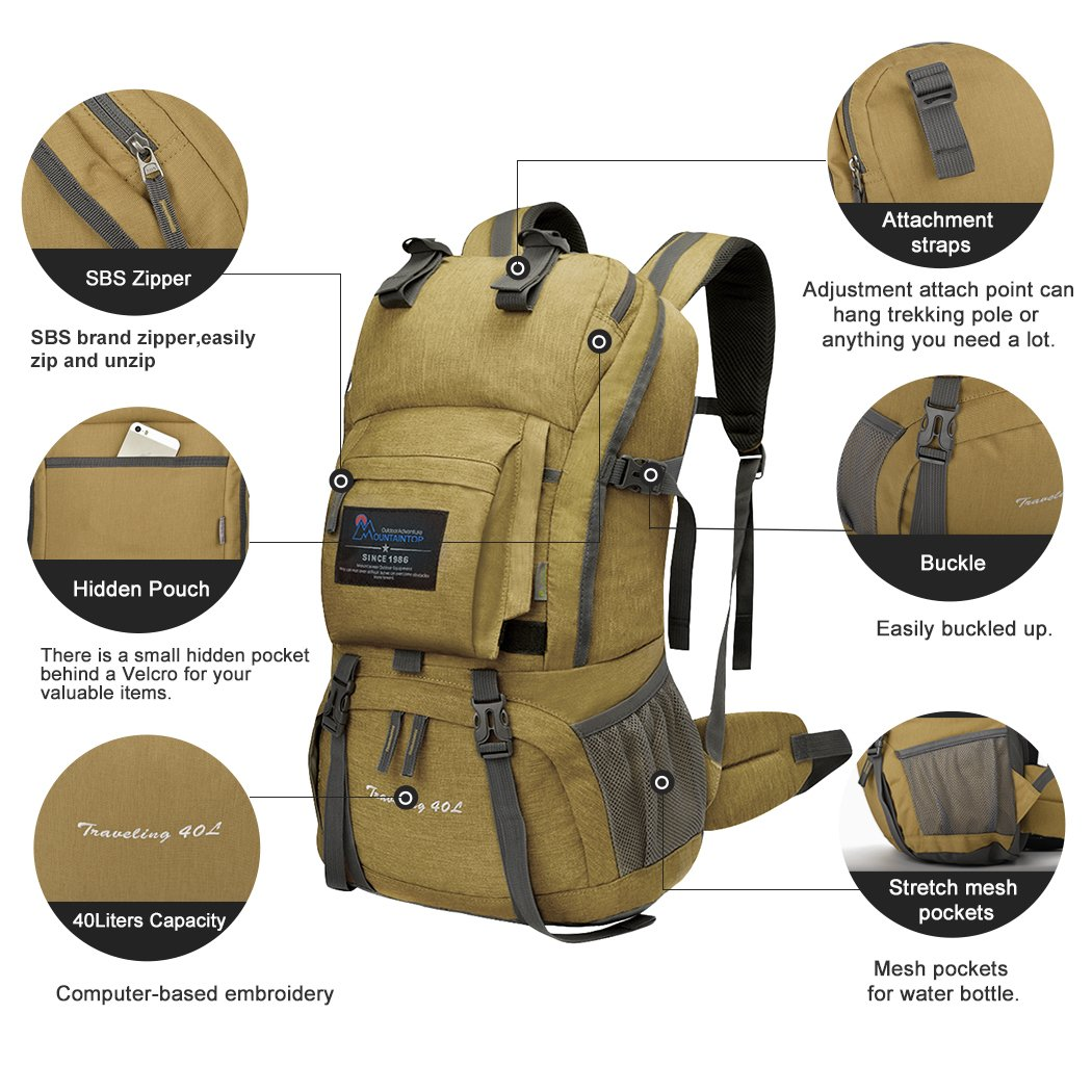 Mountaintop Backpack 40L