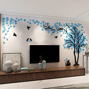 Missley Riesen Baum Wand Aufkleber Decals Acryl Decals Art Home Aufkleber  Zimmer Dekoration Wandaufkleber