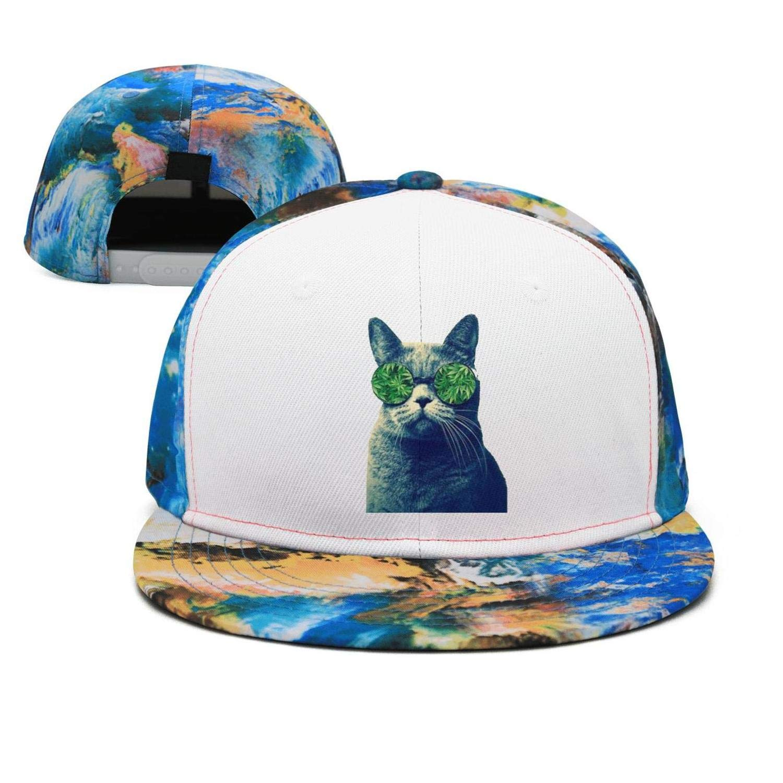 420 Weed Cannabis Marijuana Unisex Baseball Cap Polyester Sport Baseball Hats Adjustable Trucker Caps Dad-Hat