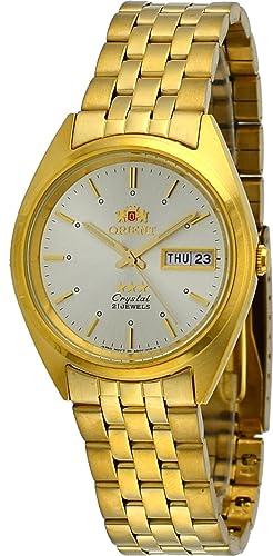 Orient #FAB0000FC - Reloj de pulsera para hombres (3estrellas, dorado,