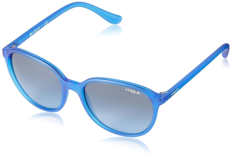 Sunglasses Vogue VO 2939S 22818F TRANSPARENT ELECTRIC BLUE