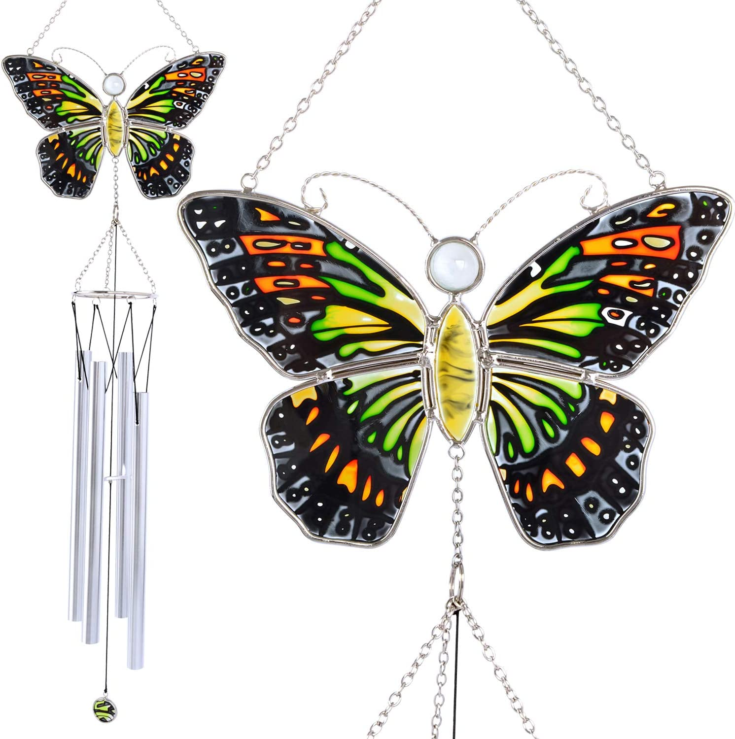 Butterfly wind chimes, Wind chimes unique outdoor, Gifts for women, Gifts for mom, Gifts for grandma, Memorial wind chimes, Birthday gifts for women, Christmas decorations, Garden decor, Yard decor