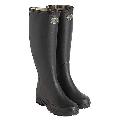 Le Chameau Women's Giverny Jersey Lined Boots | Rain Footwear