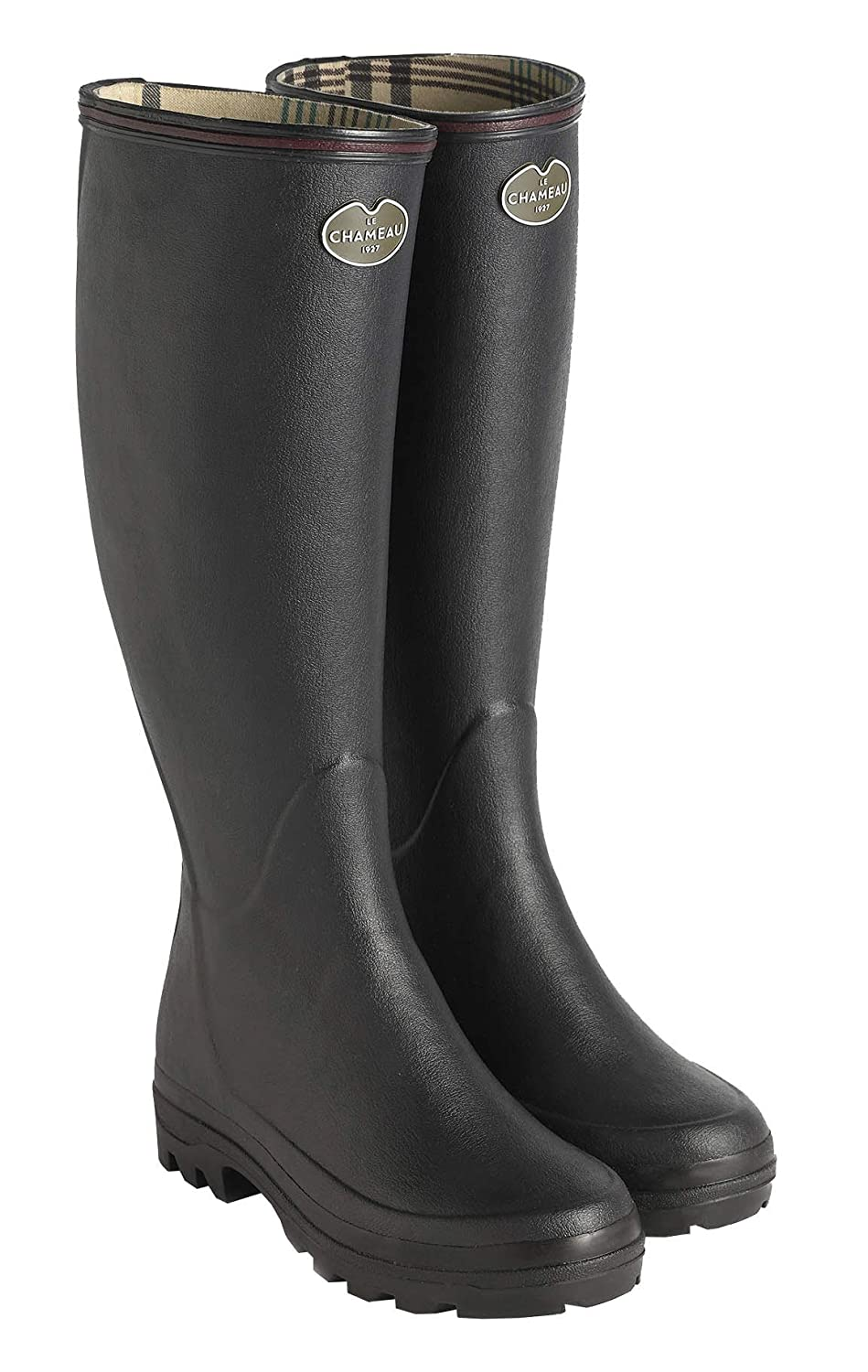 - LE CHAMEAU 1927 Women's Giverny Jersey Lined Boot - US 10
