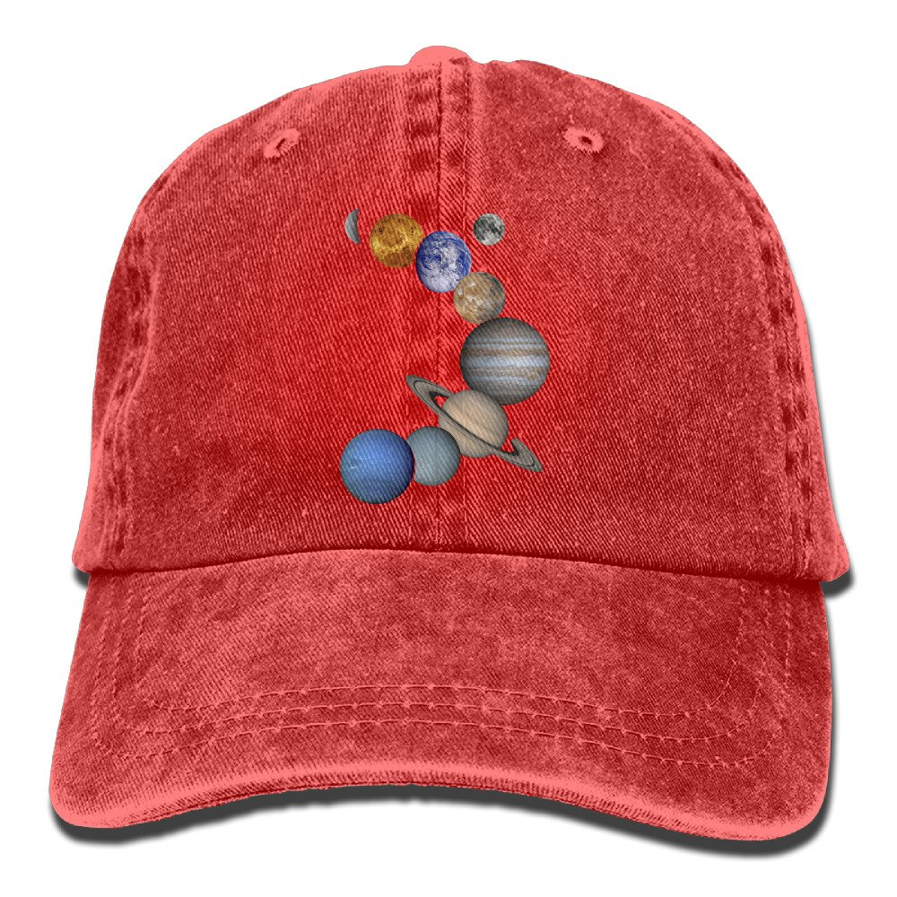 Solar System Planets Astronomy Adult Sport COWBOY CAP