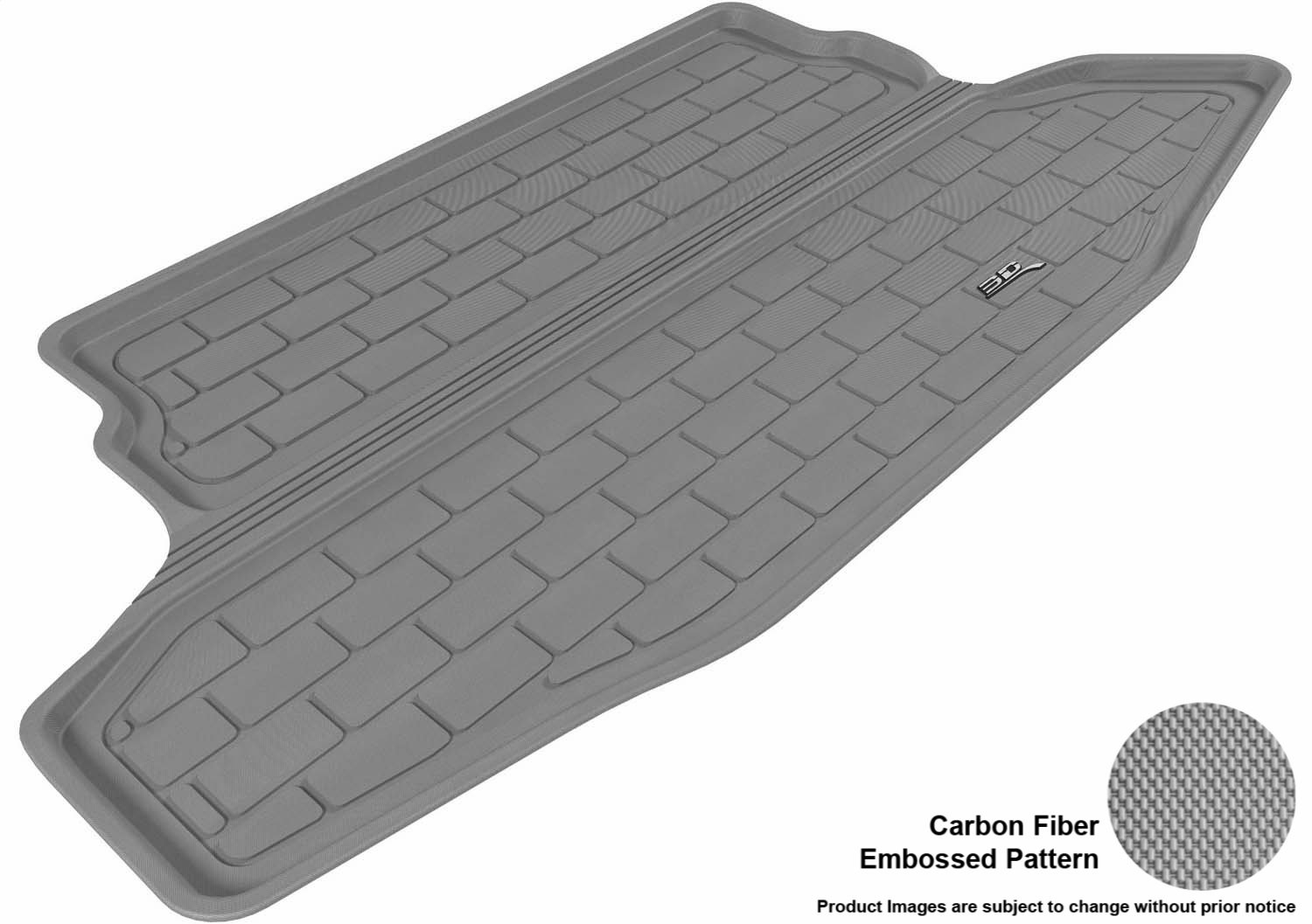 Kagu Rubber Gray L1NS06401501 3D MAXpider Complete Set Custom Fit All-Weather Floor Mat for Select Nissan Juke Models