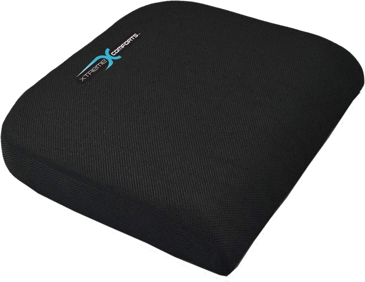 Xtreme Comforts Large Seat Cushion with Carry Handle and Anti Slip Bottom Gives Relief from Back Pain: Health & Personal Care