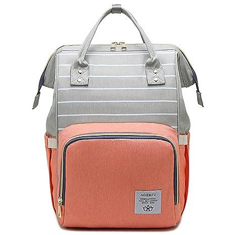 Bolso cambiador para bebé, bolsa para pañales, mochila para ...