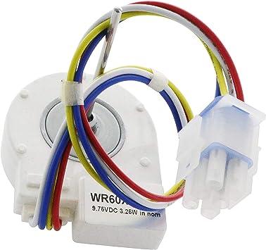 Endurance Pro WR60X10185 DC Motor de ventilador evaporador de ...