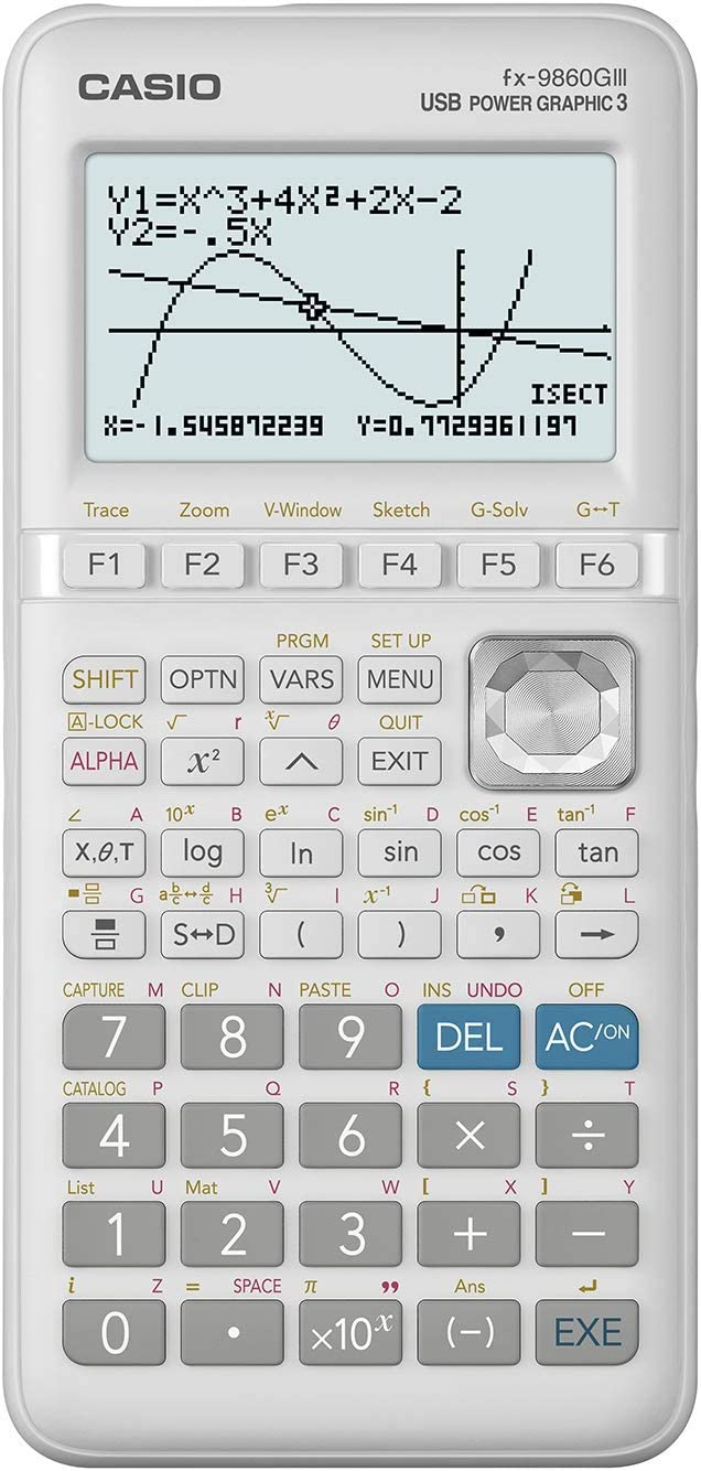 Casio FX-9860GIII Advanced Graphic Calculator: Amazon.co.uk: Office Products