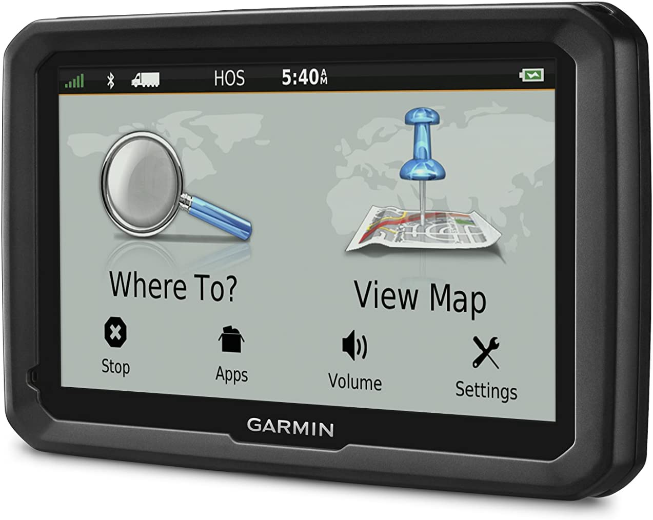 Amazon Com Garmin Dezl 770lmthd Truck Gps Navigator With 7 Inch Glass Display Free Lifetime Map Updates And Traffic