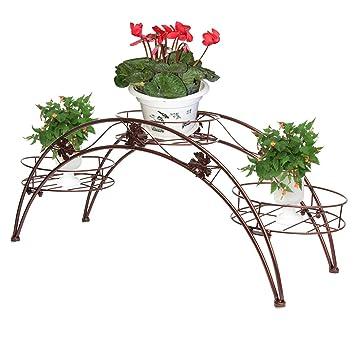 etagere porte plantes fer forg jardinire pots de fleurs arche en mtal fer forge avec rceptacles. Black Bedroom Furniture Sets. Home Design Ideas