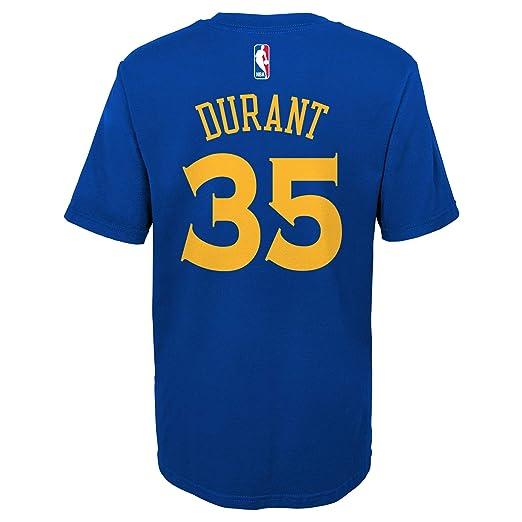 NBA Golden State Warriors-Durant Kevin, Camisa de Deporte para Niños: Amazon.es: Ropa y accesorios