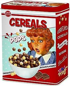 R2S 093 - Caja de Cereales, Metal, 19 x 10,5 x 24 cm, Multicolor ...