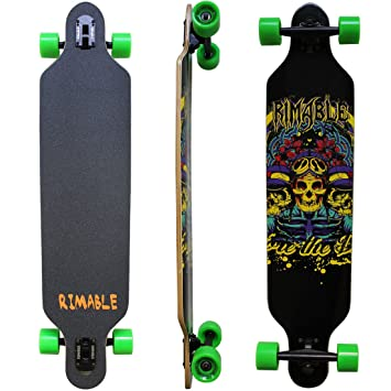 Review RIMABLE Drop-through Longboard (41-inch)