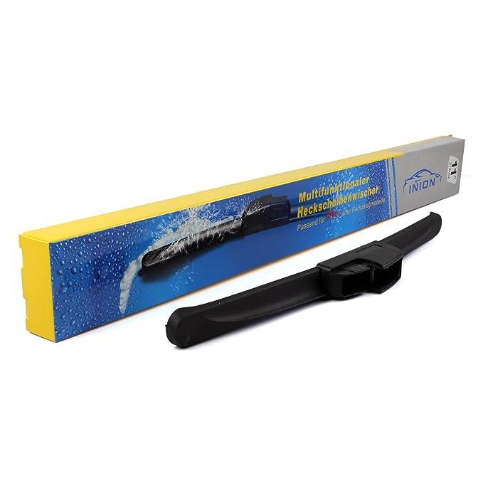 INION® Set - Multi de clip - trasero - Limpiaparabrisas 400 mm Premium Limpiaparabrisas Trasero Limpiaparabrisas Trasero trasera Aero Escobilla ...