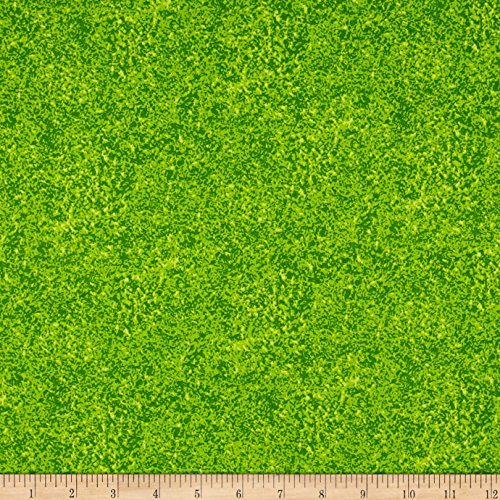 Riverwoods Collection Riverwoods Quilt Trails Blender Lime Green Fabric by The ()