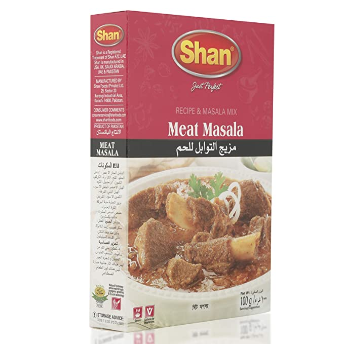 Shan Spice Mix for Meat Masala, 100g: Amazon in: Grocery