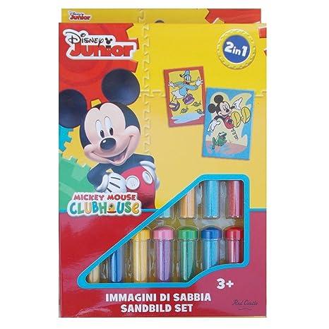 Set Gioco Topolino E Paperino Disney Bambino Immagini Di Sabbia 2 In