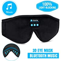 Bluetooth Sleep Mask- LC-dolida Bluetooth Sleeping Music Eye Cover Headsets Microphone Travel