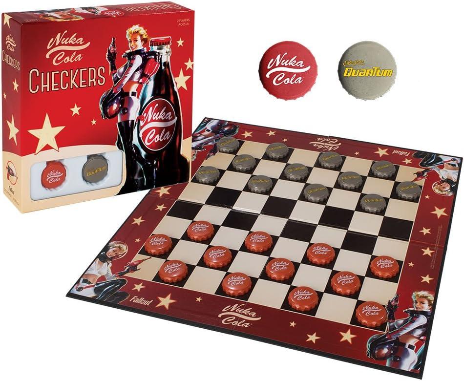 Fallout Nuka-Cola Checkers: Amazon.es: Juguetes y juegos
