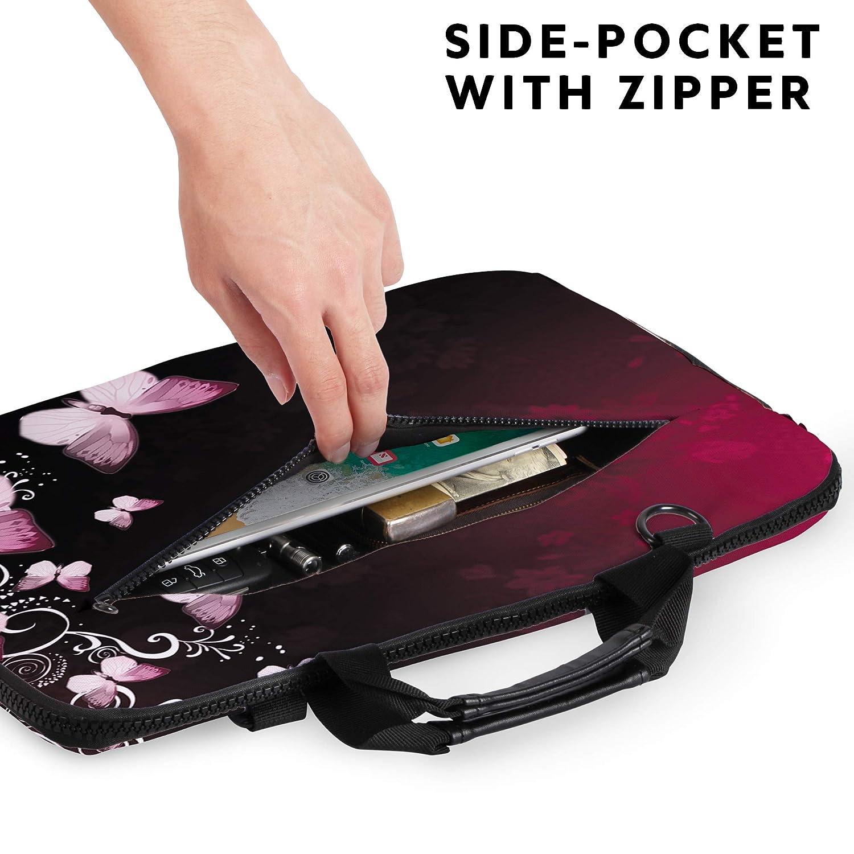 461c498c6d Sidorenko Borse per PC portatili Borsa in Neoprene per notebook borsa a  tracolla per PC portatili ...