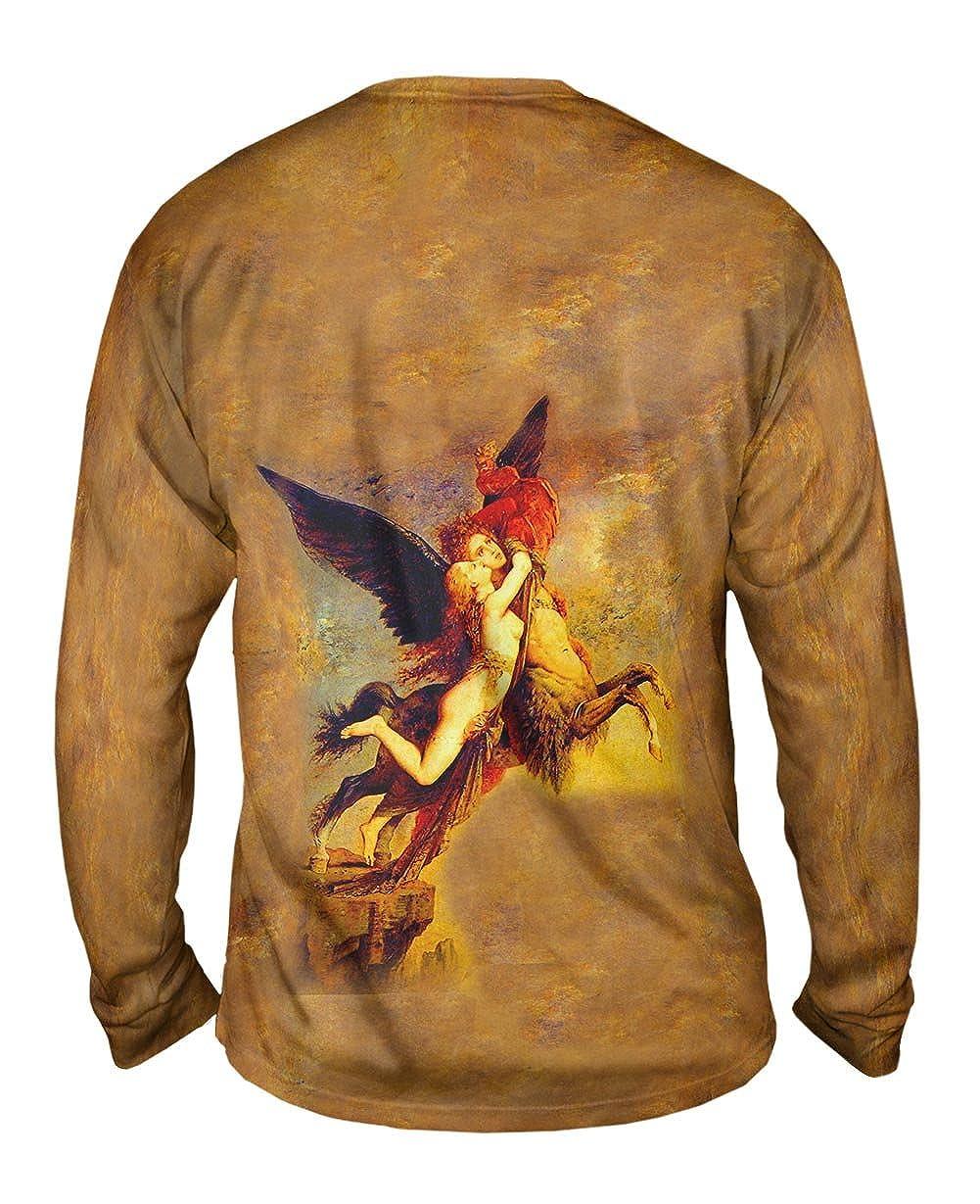 Yizzam- Gustave Moreau The Chimera -TShirt- Mens Long Sleeve 1856