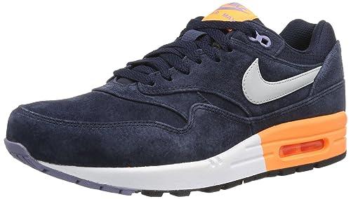 NIKE Air Max 1 PRM - Zapatillas de correr de cuero hombre: Amazon.es: Zapatos y complementos