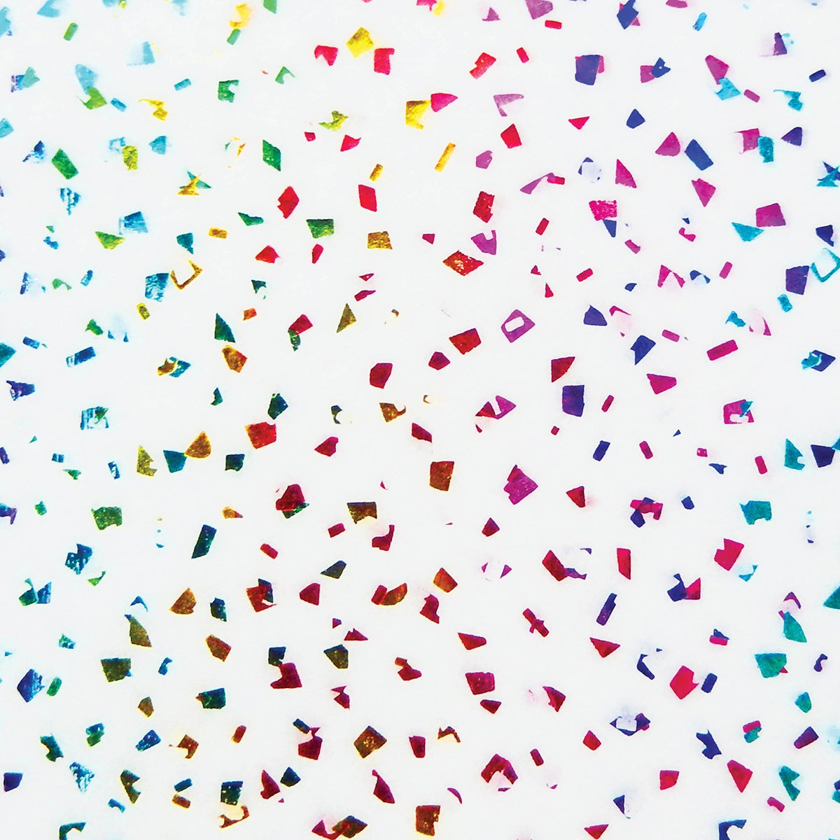Jillson Roberts Bulk 200-Sheet Count 20''x30'' Reflection Tissue, Metallic Rainbow Flecks (BRT86)