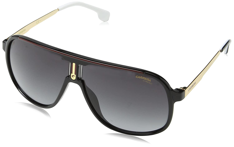 a3bbf9221469 Amazon.com: Carrera 1007/S 807 Black 1007/S Pilot Sunglasses Lens Category  3 Size 62mm: Carrera: Clothing