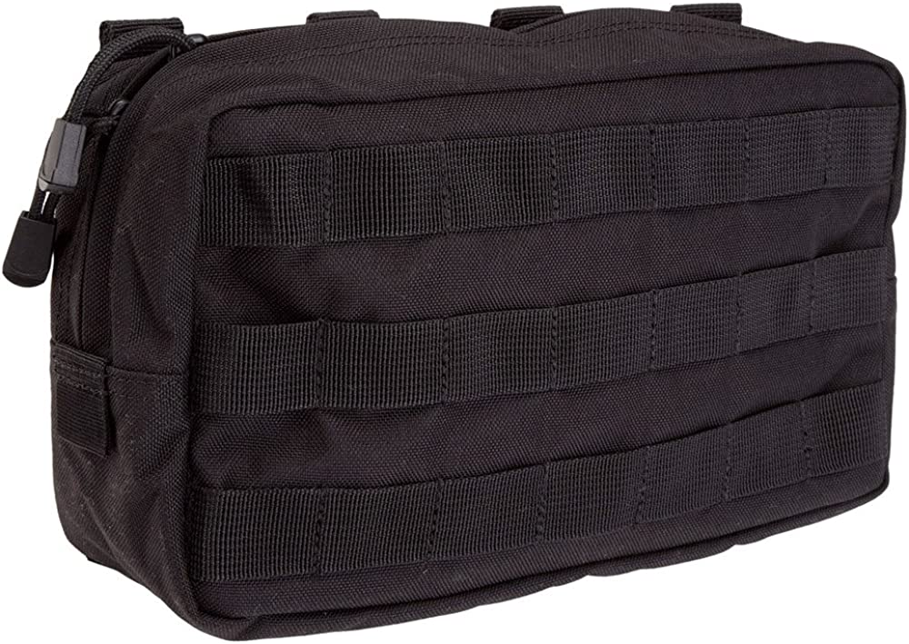 "5.11 Tactical MOLLE Lightweight Pouch, 10"" x 6"" Durable All Weather 1000D Nylon, SlickStick Webbing, for Military, EMT, Medic, style 58716 71lukdAi7LL"