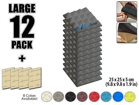"""arrowzoom nuevo paquete de 12 de 9.8 """"x 9.8"""" x 1.9 cm Pirámide"""