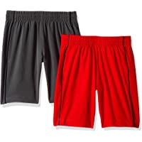 Spotted Zebra 2-Pack Active Woven Shorts Niños, Pack de 2