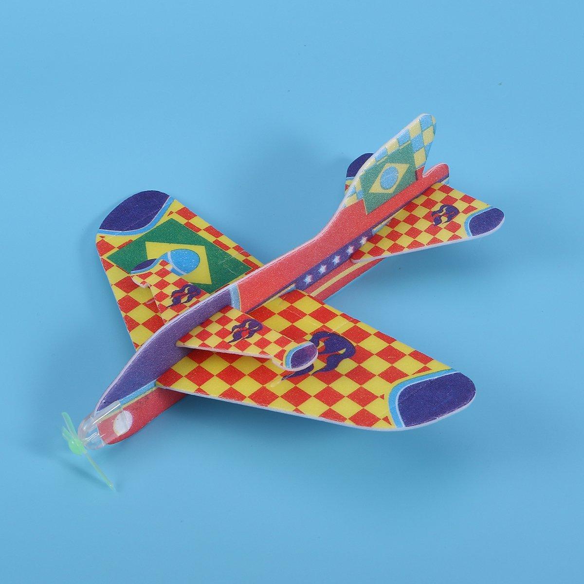 TOYMYTOY Planeadores Aviones de Espuma Juguetes Veh/ículo para Ni/ños Regalos 48pcs