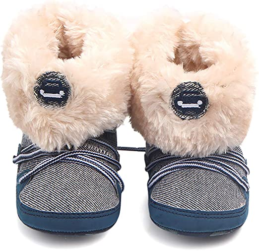 Ankle Boots Soft-bottom Baby Shoes Comfort First Walker Fashion Newborn Boots BB