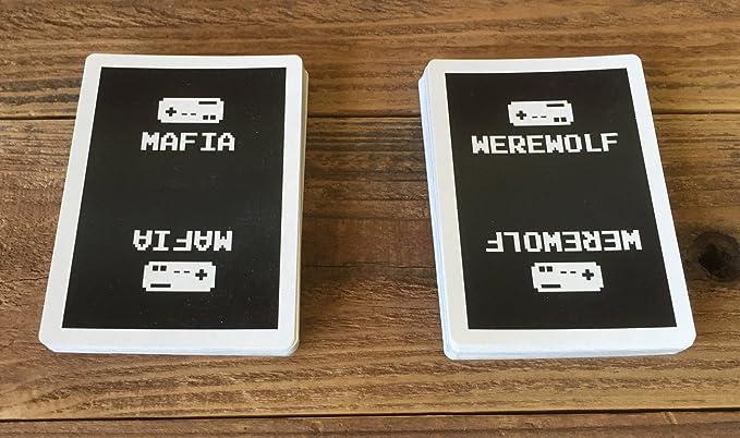 Amazon Home Run Games 8 Bit Mafia Werewolf Party Game Toys