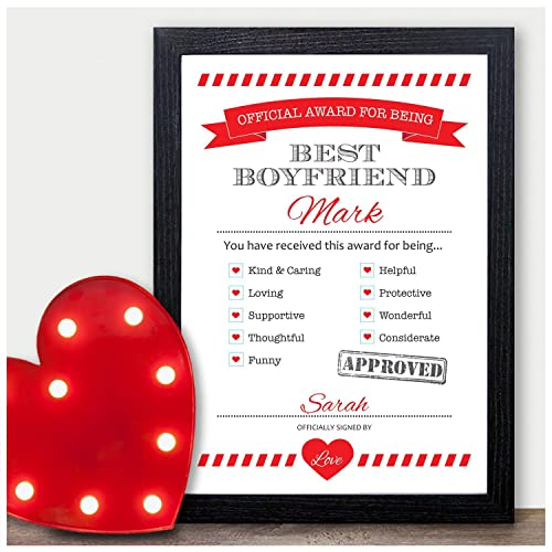 HUSBAND LOVE CONTRACT CHRISTMAS GIFT FOR GIRLFRIEND BOYFRIEND WIFE