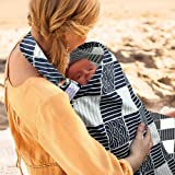 UHINOOS Nursing Cover,Infinity Soft Breastfeeding Cotton for Babies with No See Through Cotton for Mother Nursing Apron…