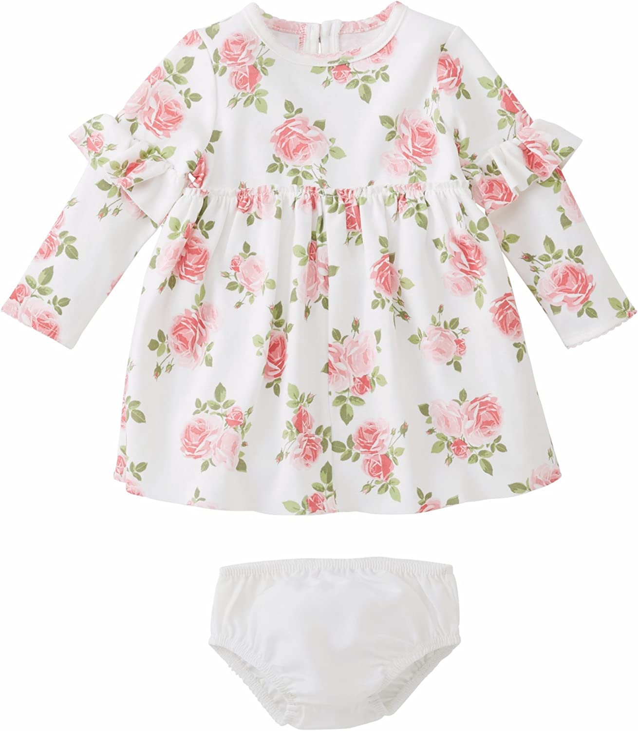 Mud Pie Pink Flamingo Collection Floral Print Bubble Summer Shorts Set Girls New