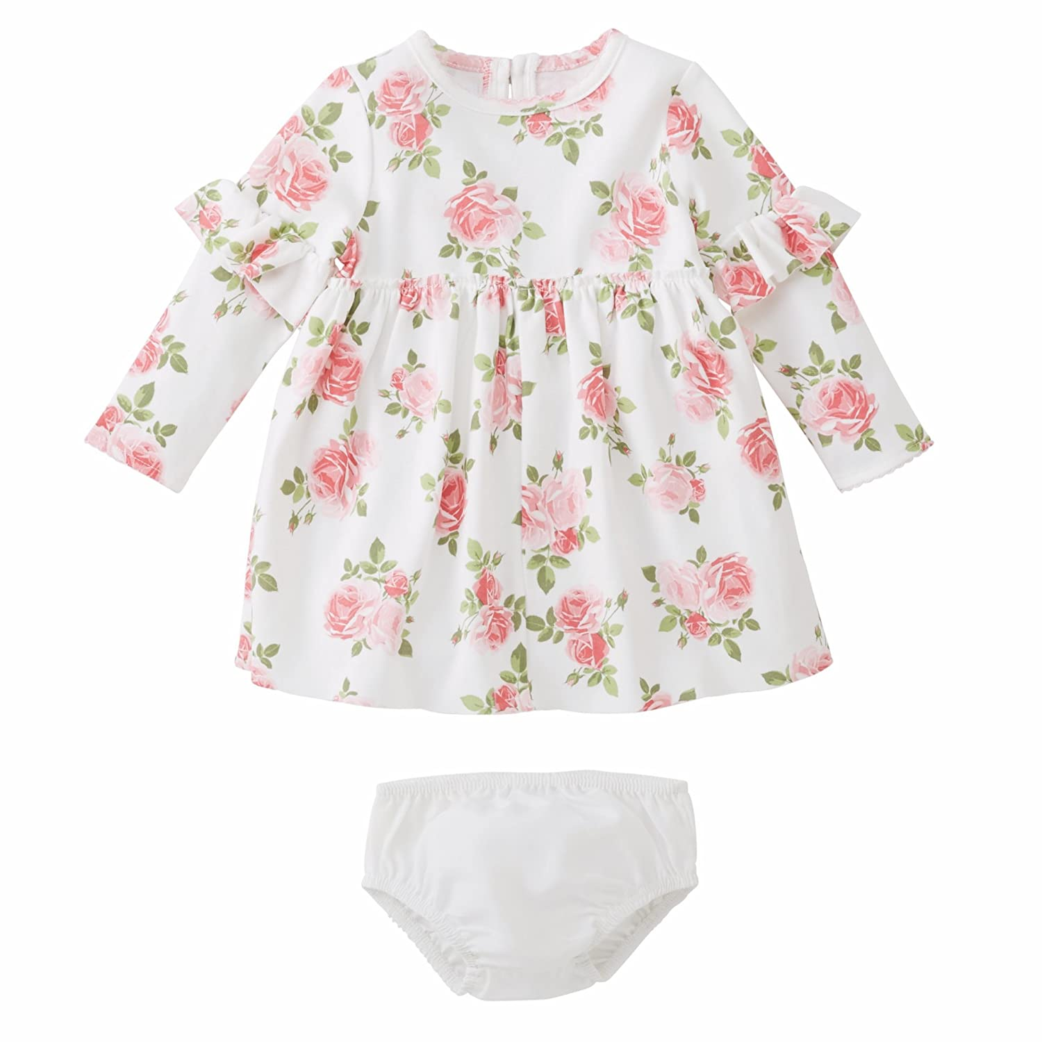 Mud Pie Baby Girl Floral Dress with Bloomer Children Apparel