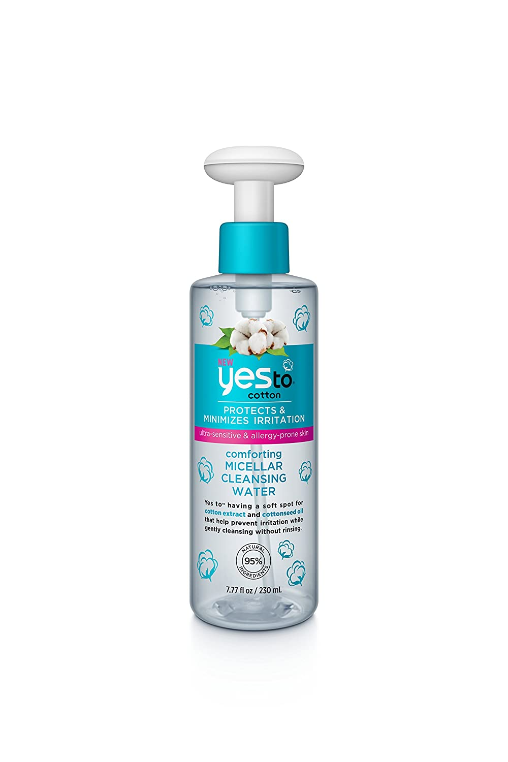 Yes To Cucumbers Calming Micellar Cleansing Water 230 Ml Amazonco Pure Baby Wash 2in1 Freshy 230ml Beauty