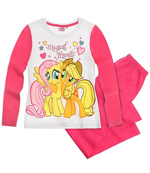 Producto oficial de My Little Pony de manga larga pijama PJ para niños niñas edad 2