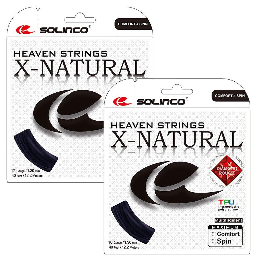 Solinco x-Off-whiteal 12, 2 m schwarz String Set –  1, 2 mm