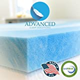 Amazon Price History for:Gel Memory Foam Topper, Queen Size 2 Inch Thick, Ultra-Premium Gel-Infused Memory Foam Mattress/Bed Topper for Cooling, Conforming, and Comfort. Made in The USA