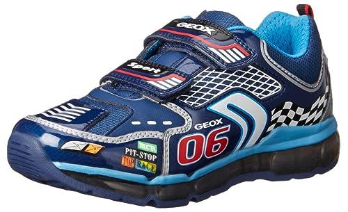 Geox J Android Boy - Zapatillas de Deporte para niño: Amazon.es: Zapatos y complementos