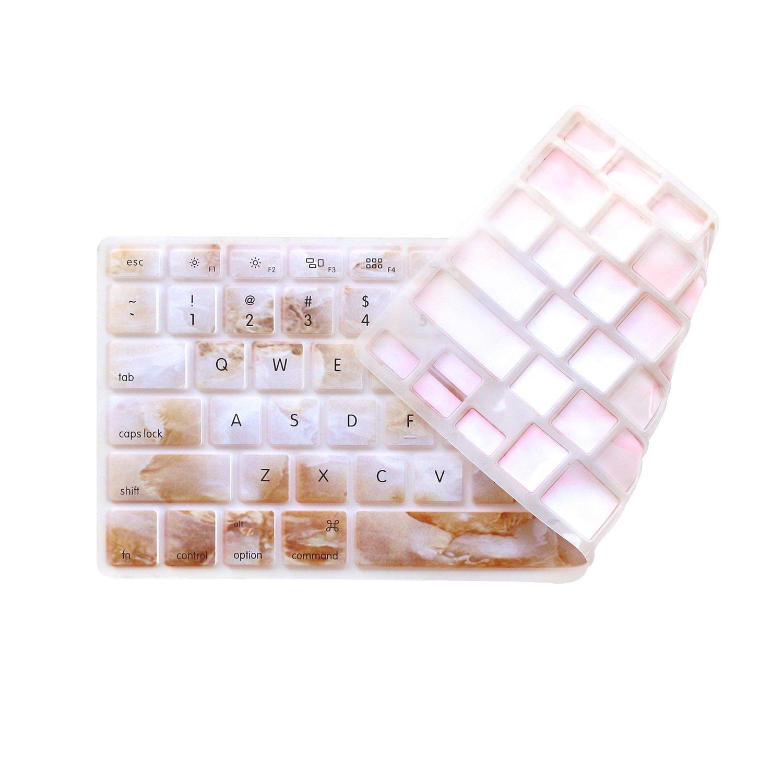 前世代ハードケースカバーfor Cover MacBook Pro 13インチ13インチ13.3インチa1278 ) with ) DVD/ with CD - ROMドライブゴム引きカバーケース Keyboard Cover Keyboard Cover Marble-White with Brown B077BV8BZC, バイクパーツのワールドウォーク:c0c5f588 --- harrow-unison.org.uk